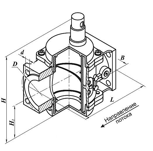 Фильтр газа ФН 4-6